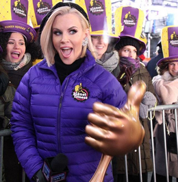 Jenny McCarthy Faints on Live TV Just Before NYE Countdown