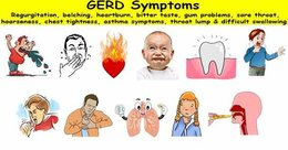 What are the common Gerd Symptoms